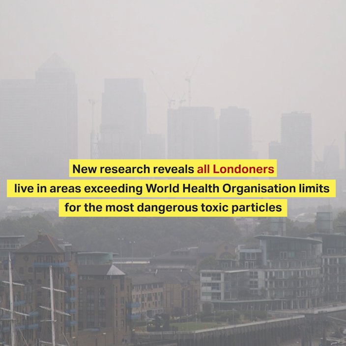I'm taking bold action to tackle the toxic air pollution that affects all Londoners https://t.co/7IWsyujERh