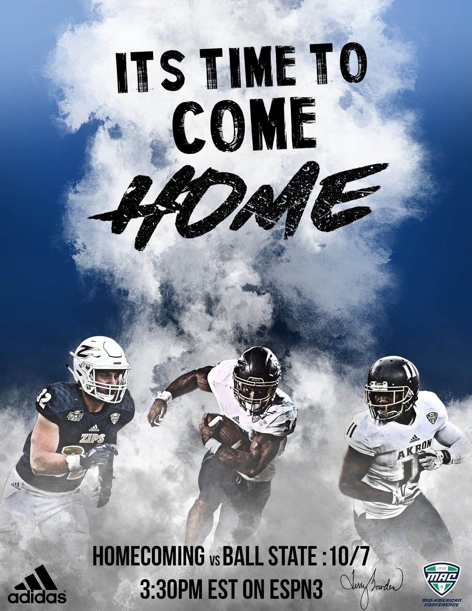 Can't wait to GATA in some MAC action today! #ItsHomecoming!! #GoZips #DHM https://t.co/pnmZLoLRZ5