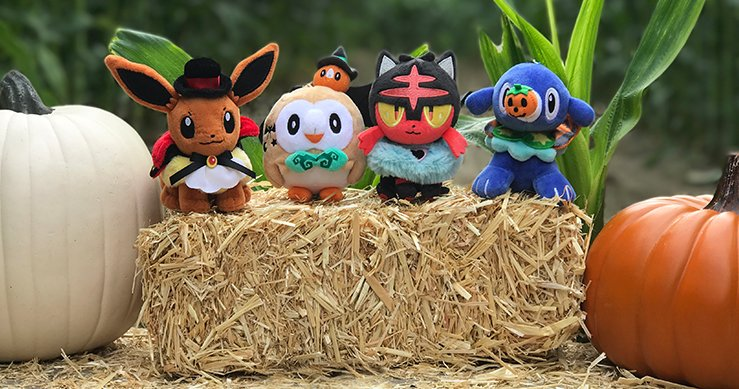 Look who's gearing up for #PokemonHalloween! Do you have a Pokémon-themed costume planned this year, Trainers? https://t.co/rmQcNmKSFW