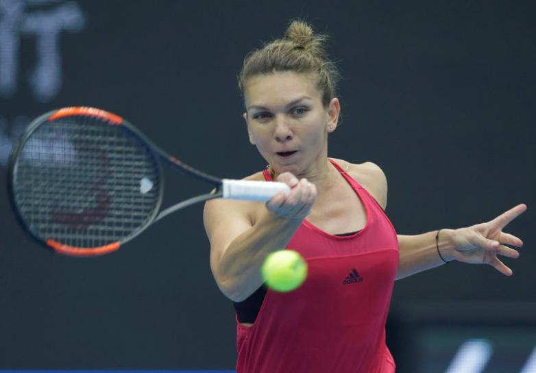 Halep on top of the world after reaching China Open final