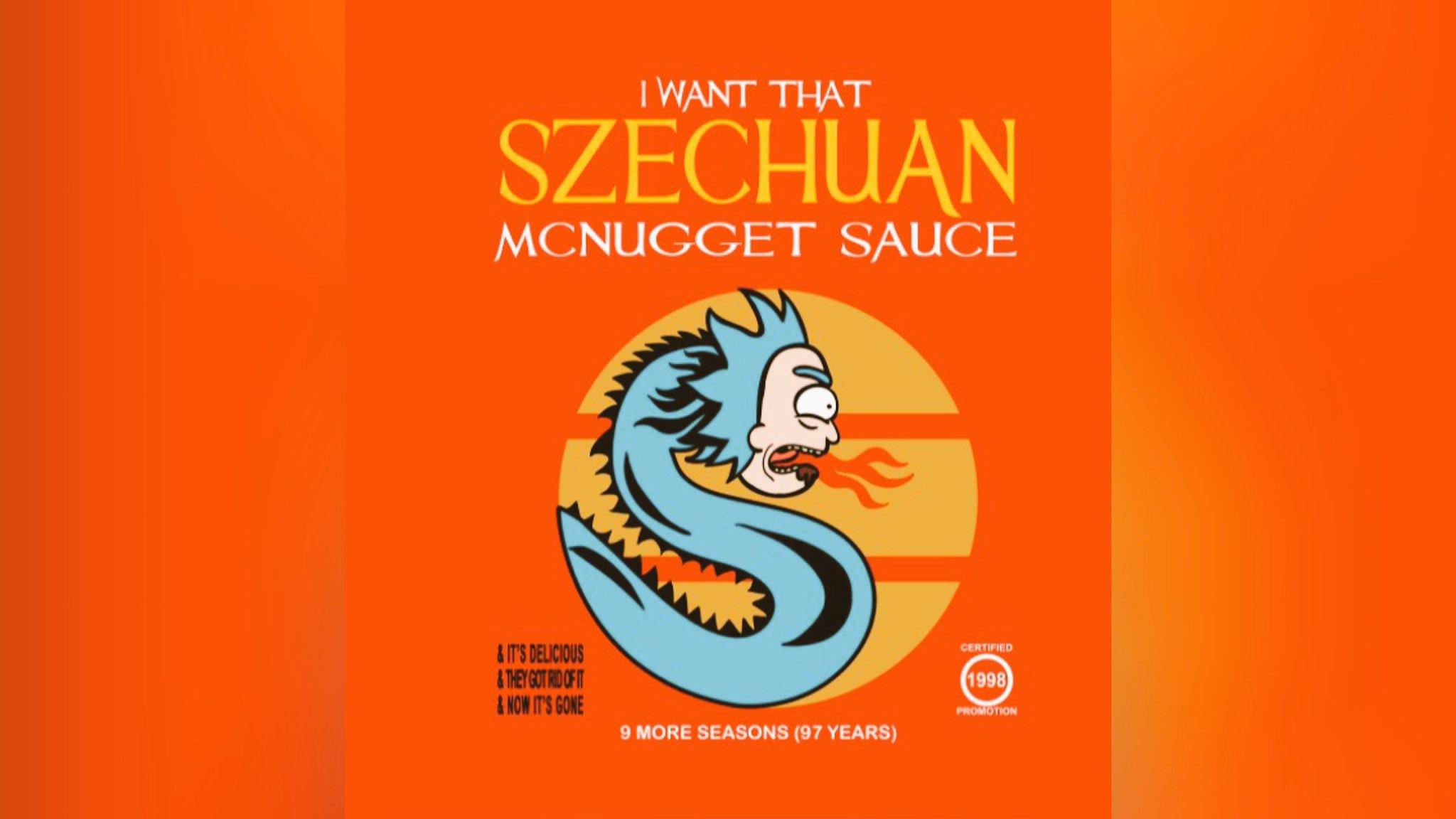RT if you didn't get the #RickandMorty #szechuansauce https://t.co/9vJXITfkYA