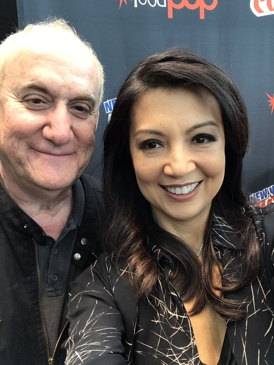 We have Jeph Loeb and @MingNa here at #NYCC for Marvel's #AgentsofSHIELD! 👏👍