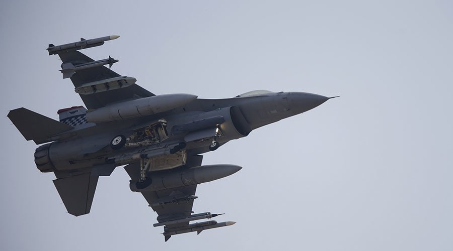 3 US F-16 fighter jets make emergency landing in Japan