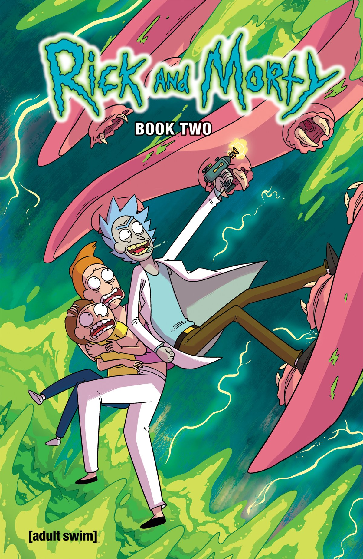 Wubba Lubba Dub Dub! #RickandMorty HC Book 2 is at our booth, broh! #NYCC2017 #NYCC https://t.co/4qRl4SUw5d