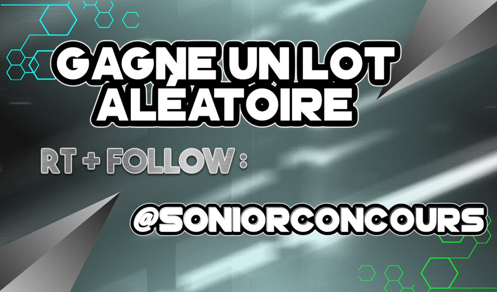 ��#Giveaway ��  ↪WIN 3 RANDOM GIFT ��⬅  #Rt + #Folow   ↪@SoNioRConcours  ↪ @AF4R_  & @FrayShao   ➡END: 30Rt ❤ https://t.co/oPEuqO7jWg