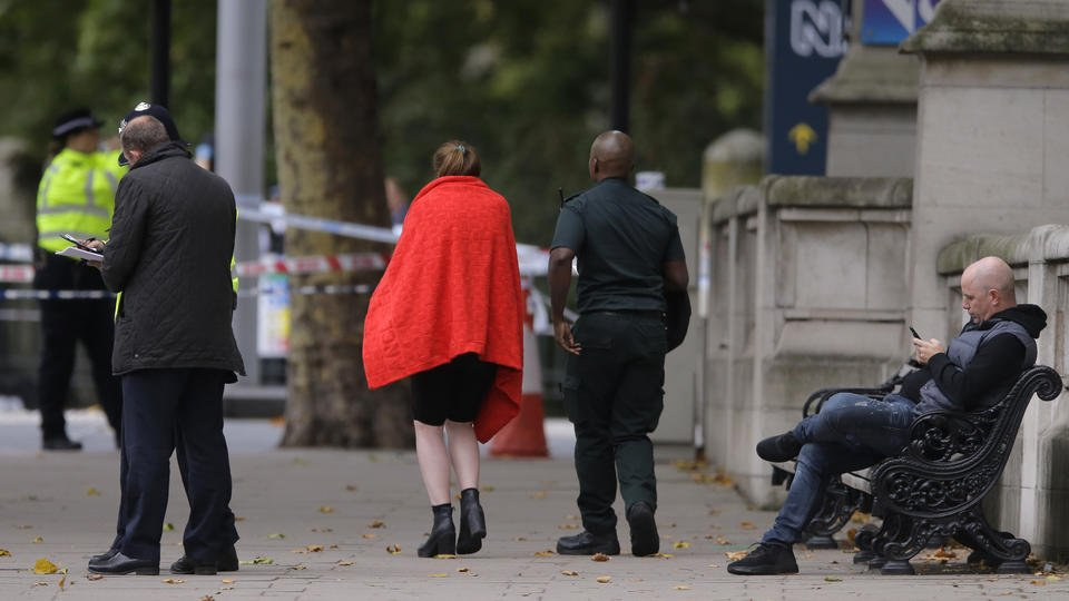 The Latest: Police: London crash that hurt 11 is not terror
