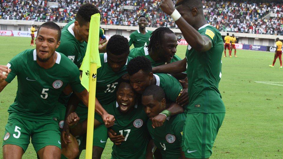 Nigéria apura-se para o Mundial ao derrotar a Zâmbia por 1-0 graças a golo de Iwobi. #WCQ https://t.co/Uma3ataGZU