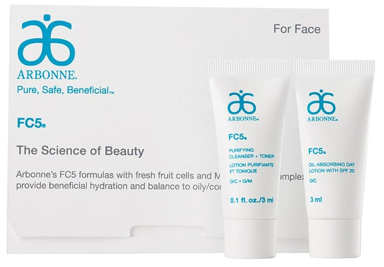 Arbonne FC5 Skincare for Oily/Combination skin - Trial/Travel Size https://t.co/VMbPz4yfin https://t.co/1bRd2Zo3Tb