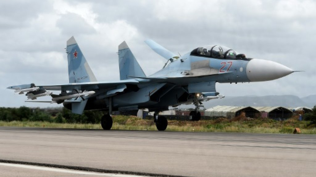 Russia strikes kill IS fighters, 'foreign mercenaries' in Syria
