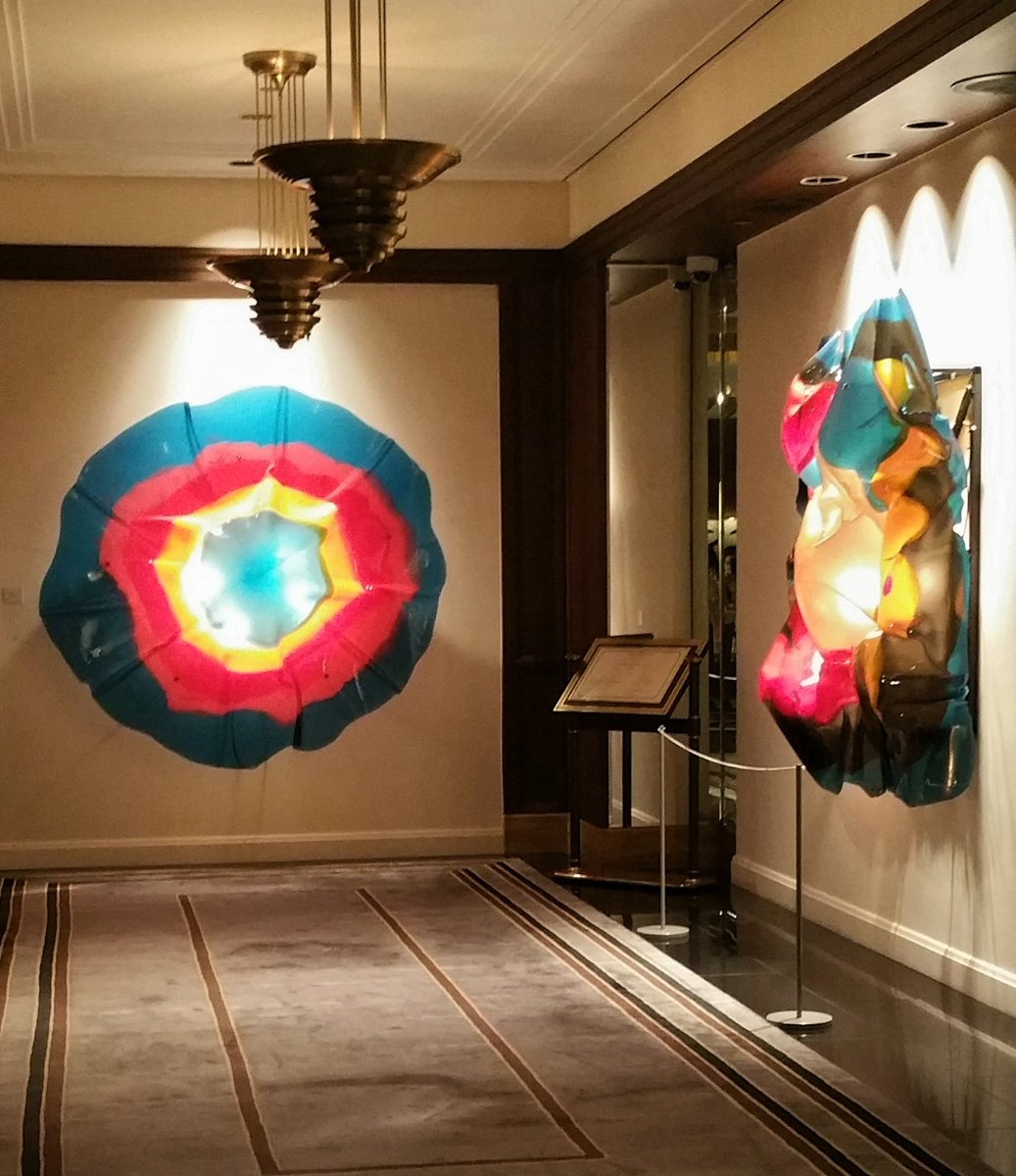test Twitter Media - Pop into Peninsula Chicago's lobby today to see Italian artist Gaetano Pesce's vibrant resin installations. @ThePeninsulaChi @ChooseChicago https://t.co/qAzZaKNgi9