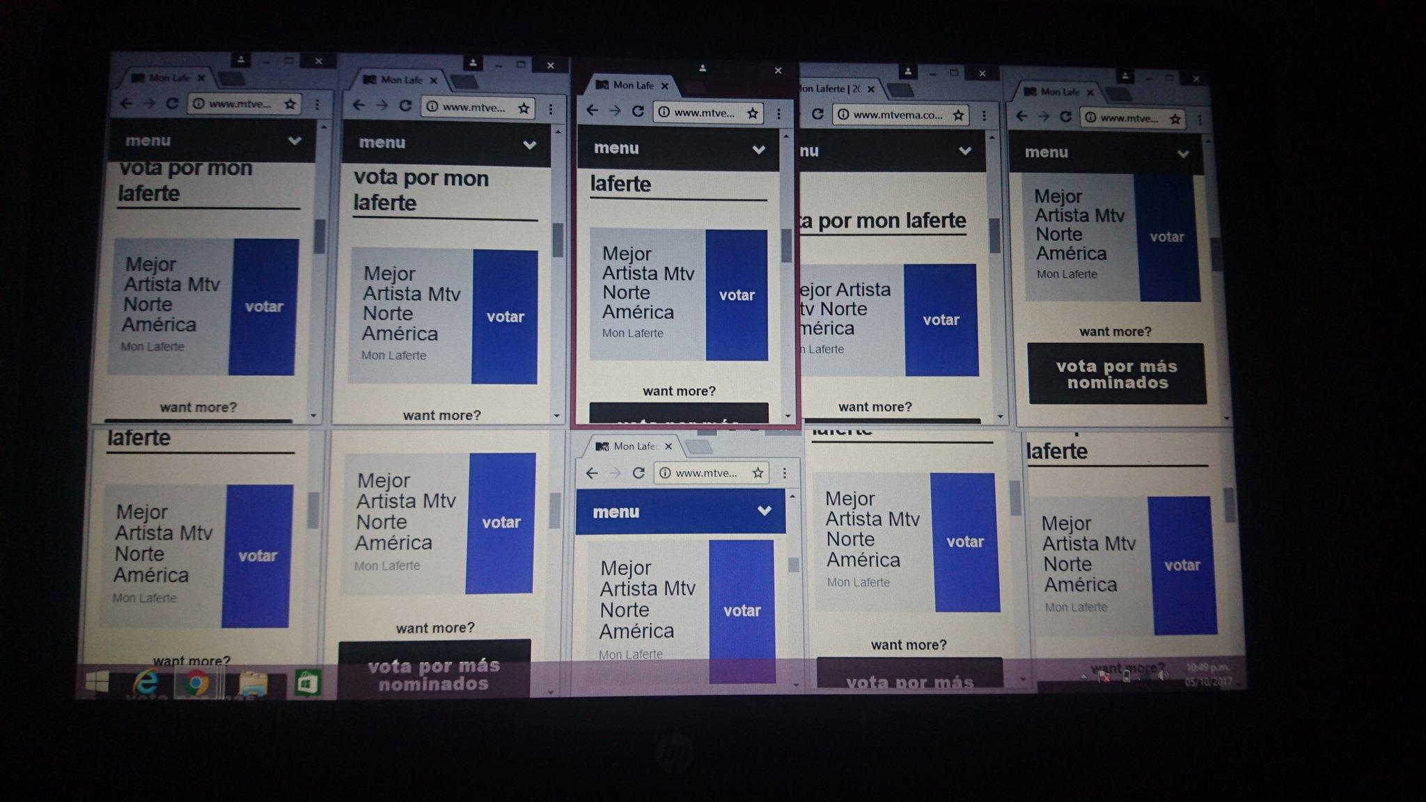 Así es más fácil votar �� @monlaferte #MTVEMA  Link��  https://t.co/Mmf2KD73Fn https://t.co/uUGtavhWv5