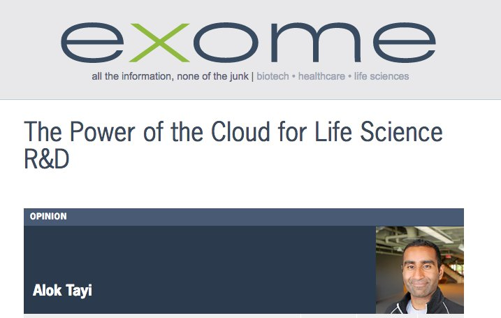 "test Twitter Media - ""The Power of the Cloud for Life Science R&D"" https://t.co/UVTkLJschz https://t.co/zHotUoj9Od"