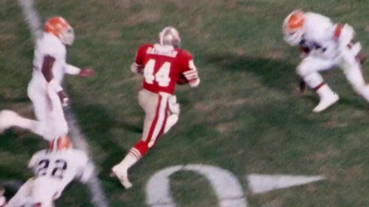 In honor of his birthday, take a look at some of the top runs in Tom Rathman's #49ers career! ���� https://t.co/TSUVd7Cvar