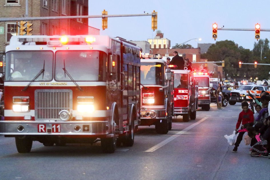 City's fire safety parade delayed a week for threat of rain
