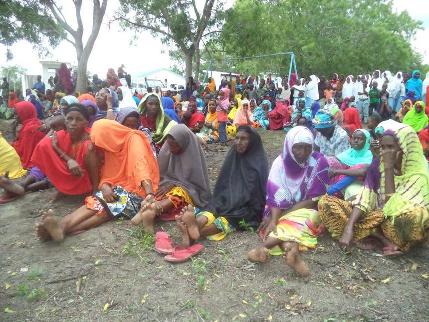 Lamu residents appeal for water and food as drought persists, children out of school