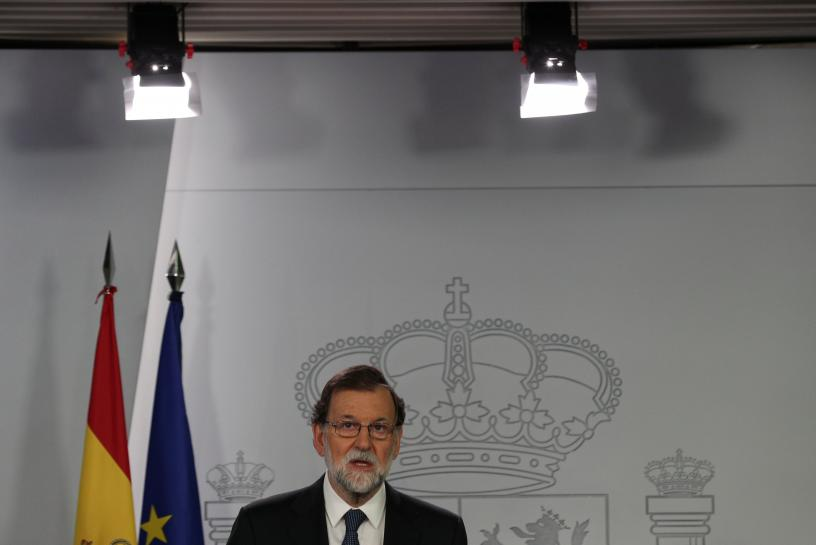 Spain's PM says could use constitutional powers to stop Catalan independence