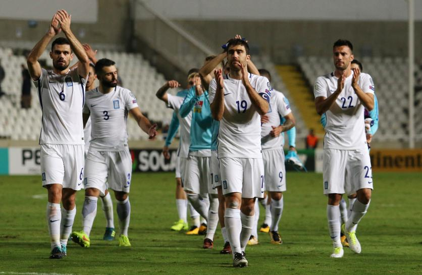 Greece up to second after win in Cyprus