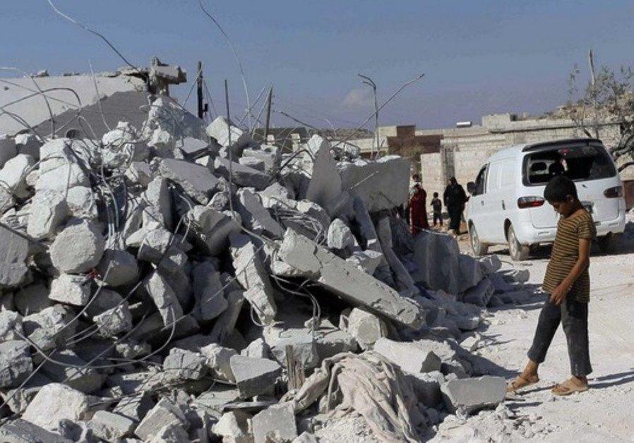 Turkish military vehicles enter Syria's Idlib
