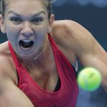 New tennis world number one Simona Halep beaten in China Open boilover