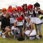 Nimon Court in the Bay fancy-dress netball festival draws crowds