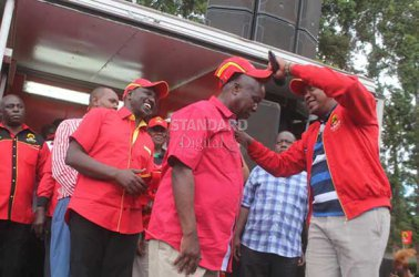 NASA, Jubilee in fresh battle over Nyanza strongholds