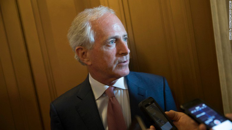 'Didn't have the guts to run!': President Trump trashes outgoing Republican Sen. Bob Corker https://t.co/ozptC5r6MY https://t.co/yOMBKYYcAN