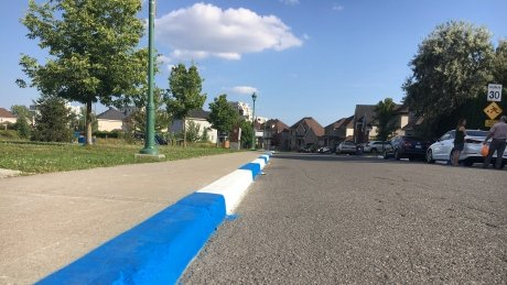 Laval suspends plan to paint curbs blue and white to get drivers to slow down https://t.co/ztrMB4bzLu https://t.co/SrlXnqMycX