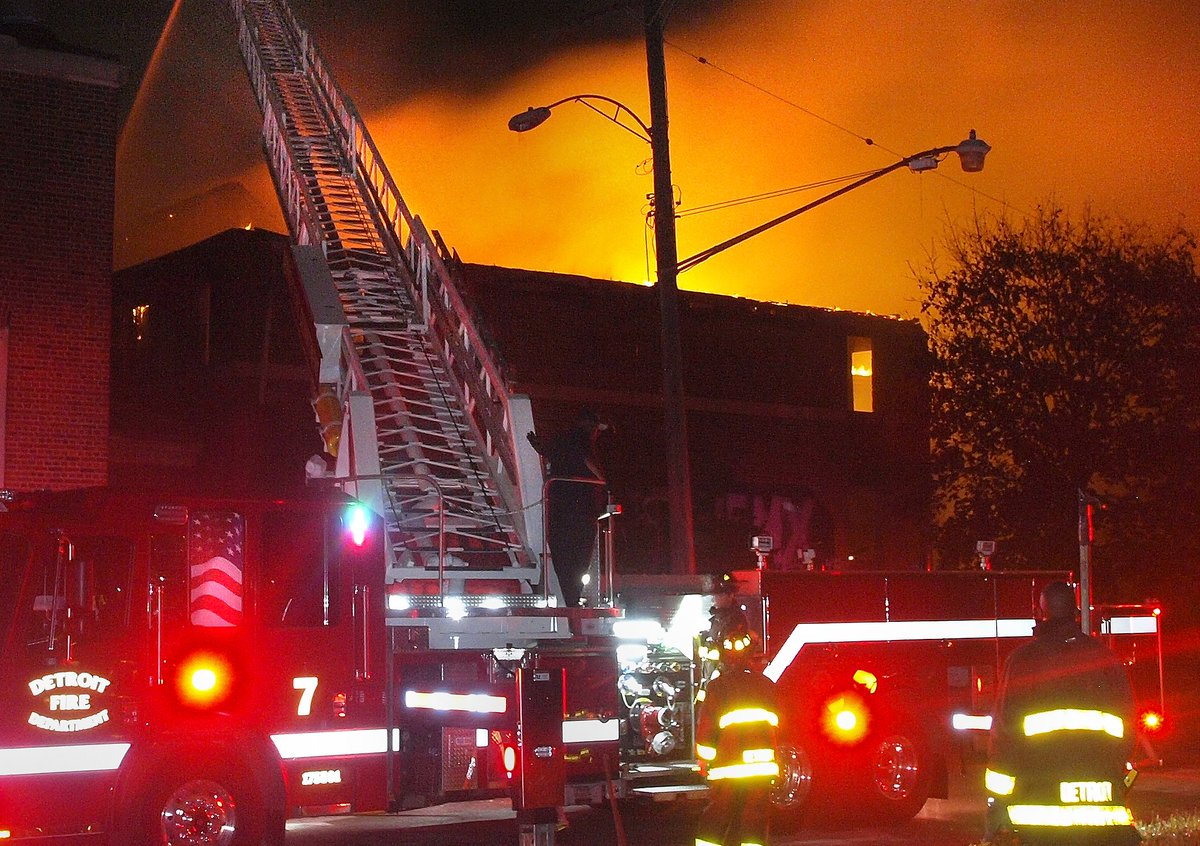 Fire destroys iconic Kronk Gym in Detroit