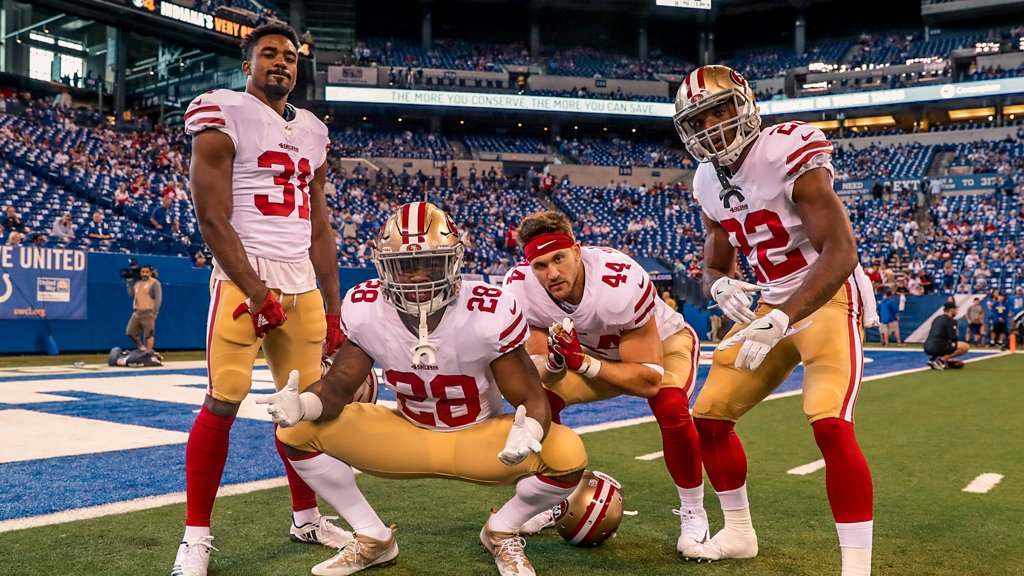 How many yards from this squad today? #SFvsIND https://t.co/u0xYIKKnyY