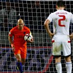 Arjen Robben gives up on 2018 FIFA World Cup qualification for Netherlands despitewin
