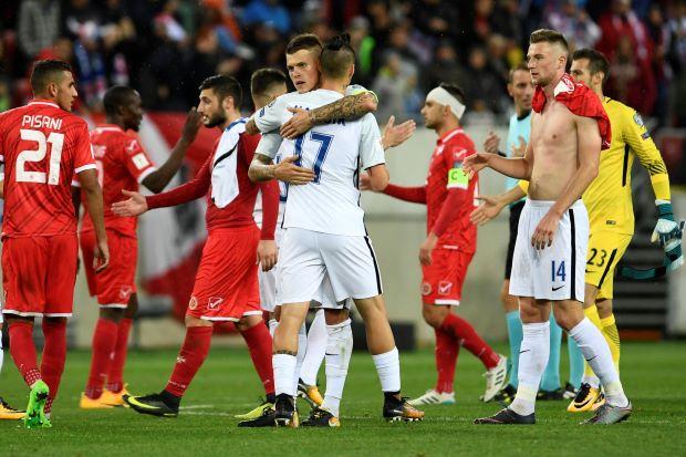 Slovakia beat Malta 3-0 to keep playoff hopes alive