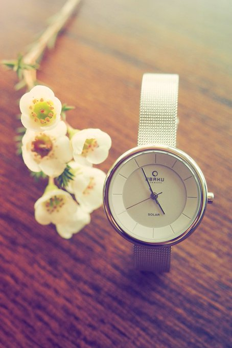 win a gorgeous obakudenmark  watch! giveaway RT comp competition FreebieFriday