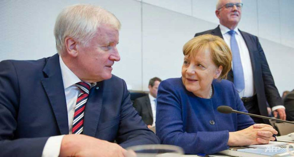 Merkel agrees 'refugee cap' in concession to allies