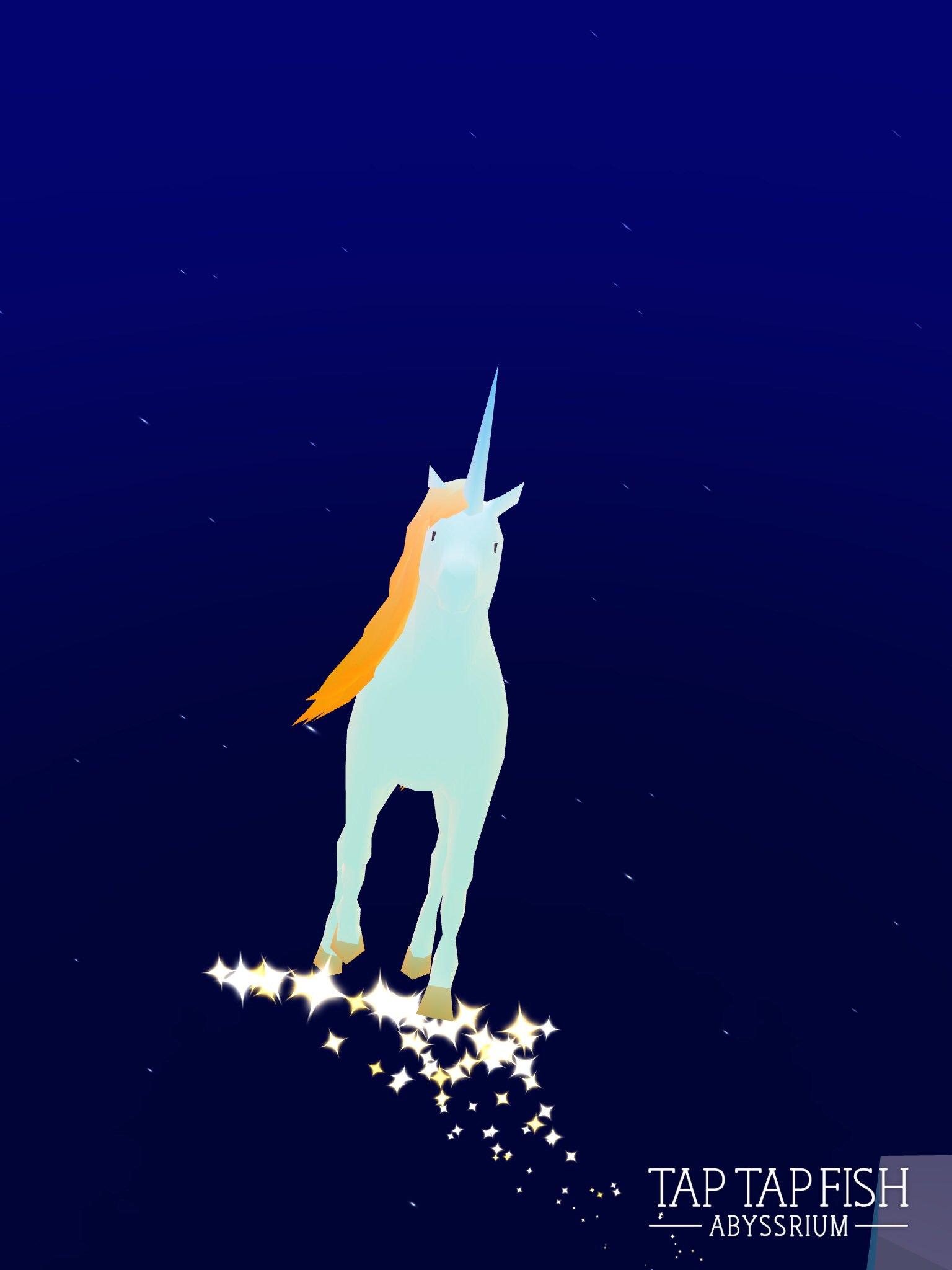 My Fall night unicorn:)  #taptapfish Download: https://t.co/jKNmJ7eMxr https://t.co/bp2Ek9jVRv