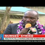 Health PS tells nurses and governors to reach agreement