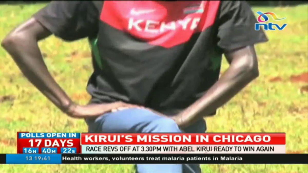 Abel Kirui ready to take over Chicago marathon