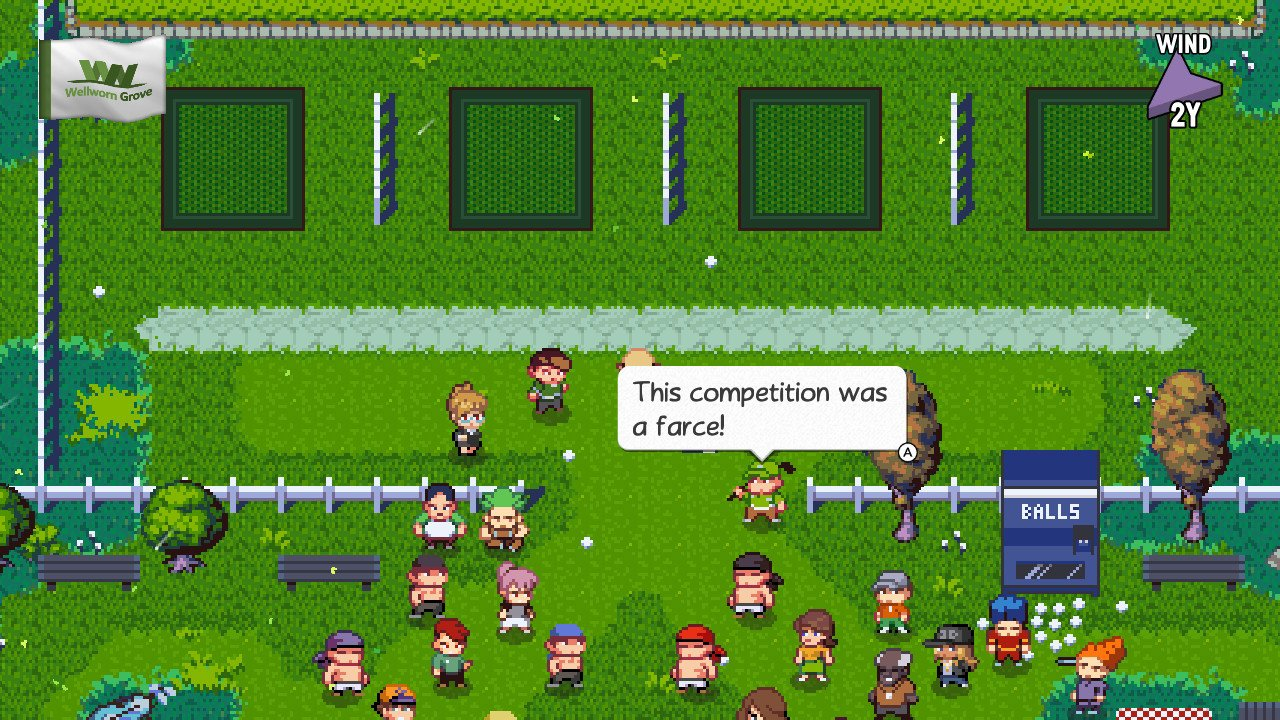 Max Yards is a real sh*thead. Never meet your heroes kids. #GolfStory #NintendoSwitch https://t.co/Q0gmJsW741