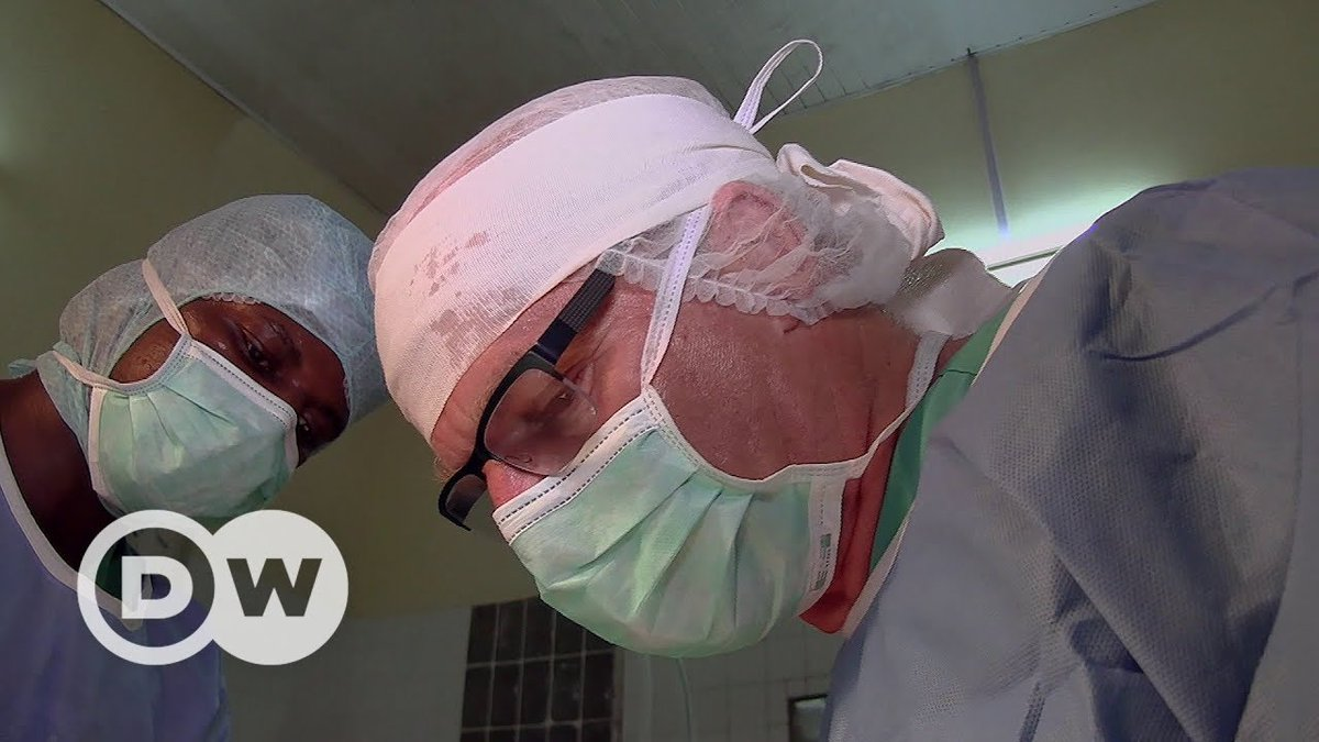 Doctors for Africa – visiting Ebola victims | DW Documentary