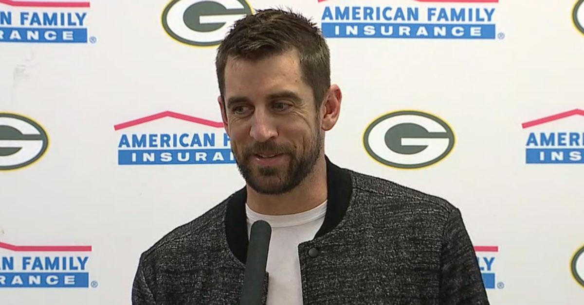 .@AaronRodgers12 talks about the game-winning drive vs. the Cowboys  ��: https://t.co/gglYRZCw0p  #GBvsDAL #GoPackGo https://t.co/KOPlaQqDKZ