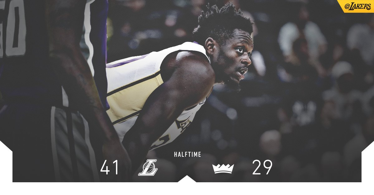 Julius Randle was all over the court in the first half, piling up 9 points, 6 rebounds & 3 steals. https://t.co/gbF7iw9cNS