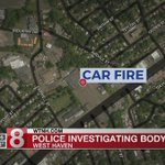 Dead body found after West Haven vehicle fire - Dauer: 23 Sekunden