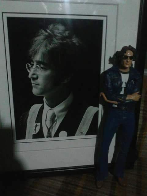 Happy 77th Celestial birthday, to my Idol and Inspiration John Lennon. Love you.