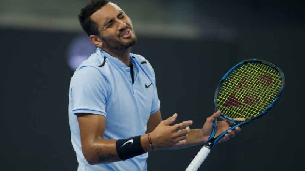 Tennis: Nadal punishes penalised Kyrgios to win China Open