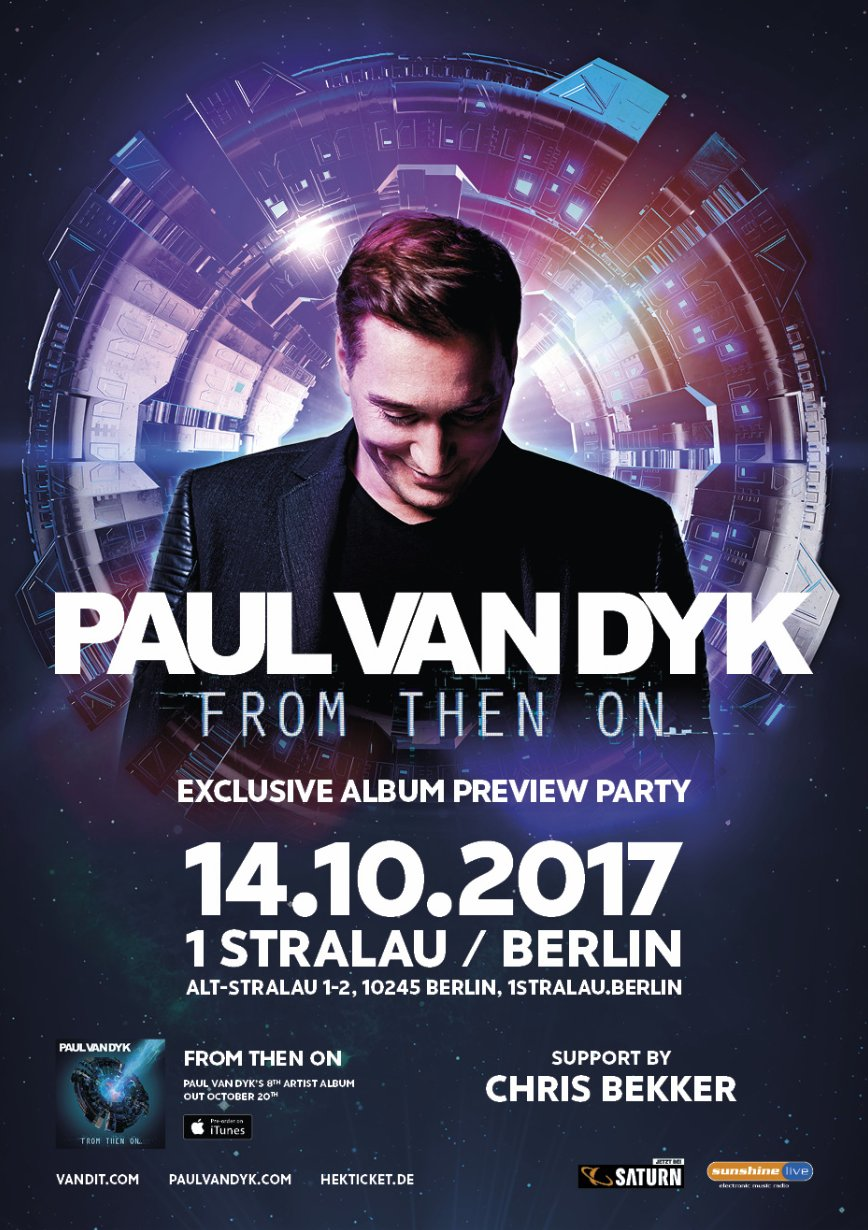 Feel ALIVE at my #FromThenOn album preview show, this Saturday in #Berlin! https://t.co/PIOX2izyQv https://t.co/qJ27ypWJ2y