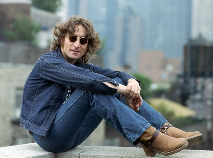 """Life is what happens to you while you\re busy making other plans\"".  Happy Birthday John Lennon."