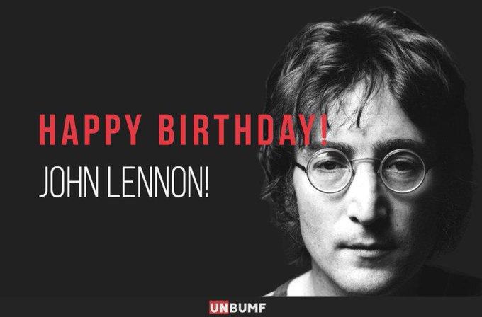 Man Who Taught Us How To Imagine : Happy Birthday John Lennon