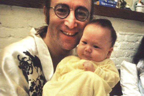 Happy Birthday To John Lennon & His Son Sean!! More Here: