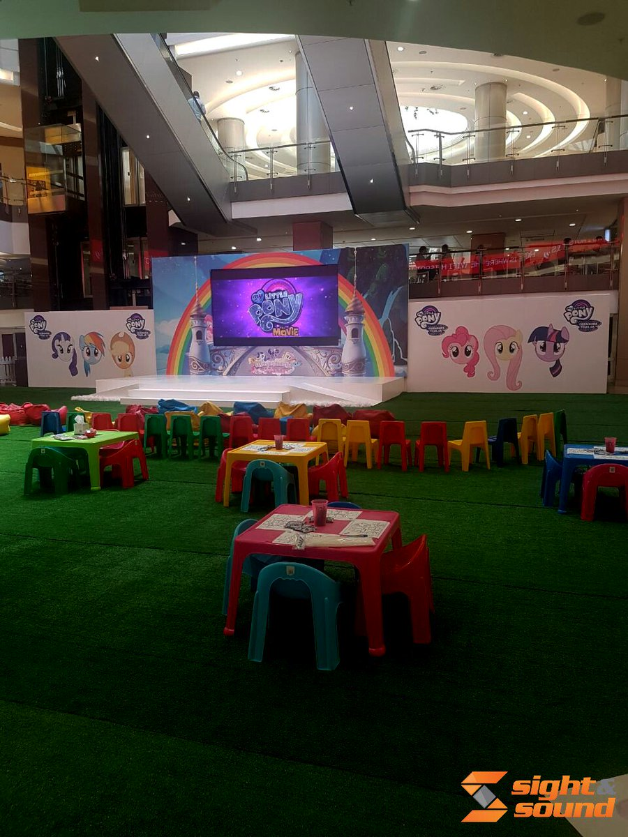 test Twitter Media - Sight and Sound Johannesburg created a memorable event for round two of the My Little Pony roadshow in Sandton City. https://t.co/QBqZWdm8G4