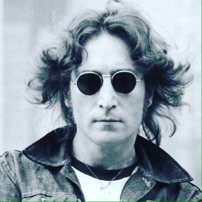 Happy birthday to my songwriting hero, John Lennon! An Inspiration! I love you, John!