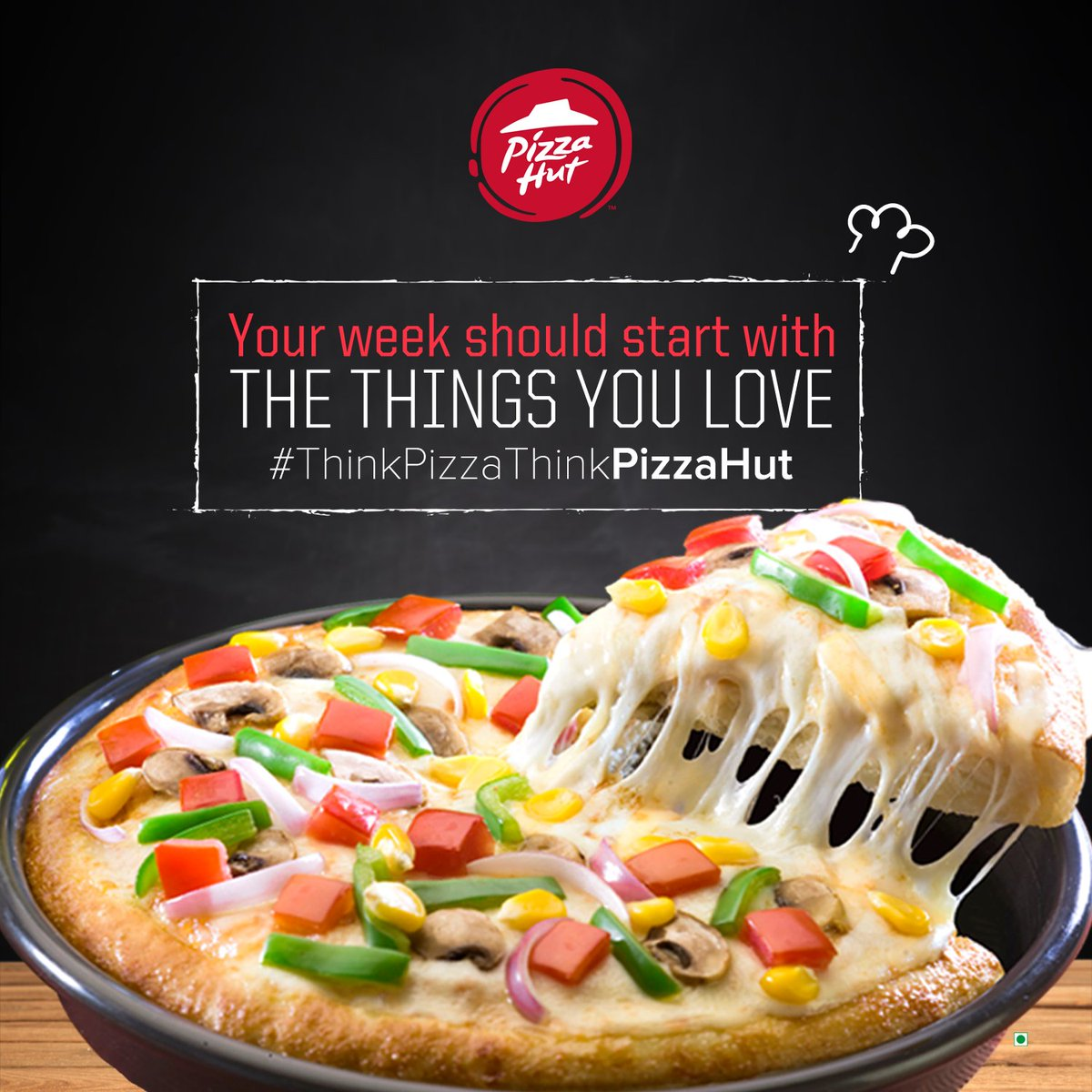 Mondays are for power meals. ThinkPizzaThinkPizzaHut https t.co 2M8ruoygNv